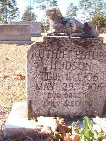 HUDSON, RUTHIE ESTHER - Dallas County, Arkansas | RUTHIE ESTHER HUDSON - Arkansas Gravestone Photos