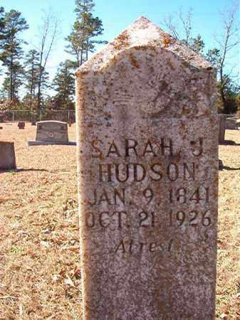 HUDSON, SARAH J - Dallas County, Arkansas | SARAH J HUDSON - Arkansas Gravestone Photos