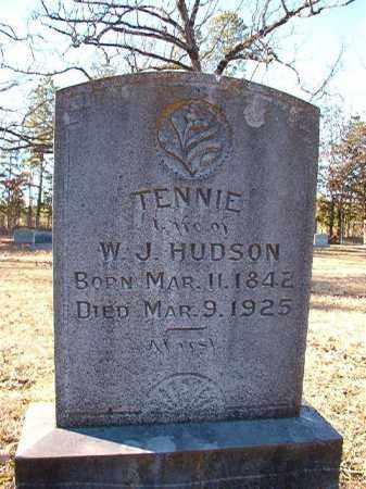 HUDSON, TENNIE - Dallas County, Arkansas | TENNIE HUDSON - Arkansas Gravestone Photos