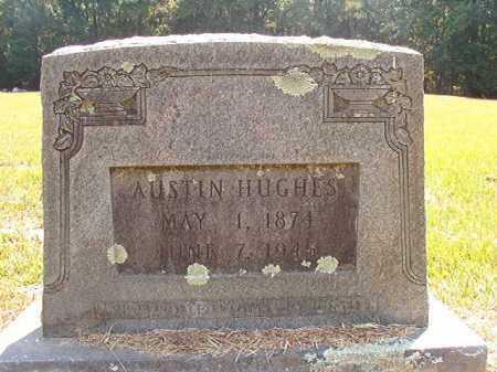 HUGHES, AUSTIN - Dallas County, Arkansas | AUSTIN HUGHES - Arkansas Gravestone Photos