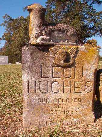 HUGHES, LEON - Dallas County, Arkansas | LEON HUGHES - Arkansas Gravestone Photos