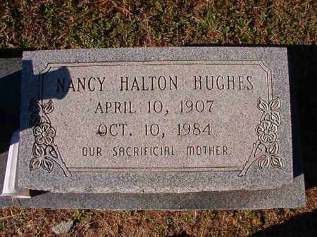 HUGHES, NANCY - Dallas County, Arkansas | NANCY HUGHES - Arkansas Gravestone Photos