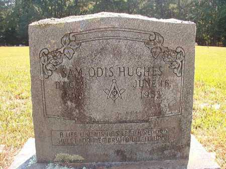 HUGHES, SAM ODIS - Dallas County, Arkansas | SAM ODIS HUGHES - Arkansas Gravestone Photos