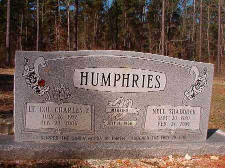 SHADDOCK HUMPHRIES, NELL - Dallas County, Arkansas | NELL SHADDOCK HUMPHRIES - Arkansas Gravestone Photos