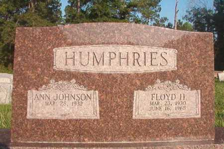 HUMPHRIES, FLOYD H - Dallas County, Arkansas | FLOYD H HUMPHRIES - Arkansas Gravestone Photos