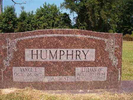 HUMPHRY, LILLIAN O - Dallas County, Arkansas | LILLIAN O HUMPHRY - Arkansas Gravestone Photos