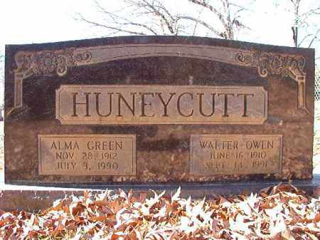 HUNEYCUTT, WALTER OWEN - Dallas County, Arkansas | WALTER OWEN HUNEYCUTT - Arkansas Gravestone Photos