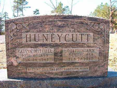 HUNEYCUTT, CALVIN MITCHELL - Dallas County, Arkansas | CALVIN MITCHELL HUNEYCUTT - Arkansas Gravestone Photos