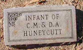 HUNEYCUTT, INFANT - Dallas County, Arkansas | INFANT HUNEYCUTT - Arkansas Gravestone Photos