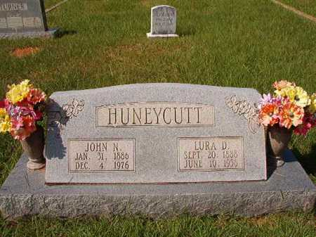 HUNEYCUTT, JOHN N - Dallas County, Arkansas | JOHN N HUNEYCUTT - Arkansas Gravestone Photos
