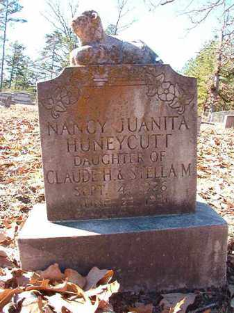 HUNEYCUTT, NANCY JUANITA - Dallas County, Arkansas | NANCY JUANITA HUNEYCUTT - Arkansas Gravestone Photos