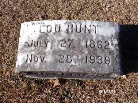 HUNT, LOU - Dallas County, Arkansas | LOU HUNT - Arkansas Gravestone Photos