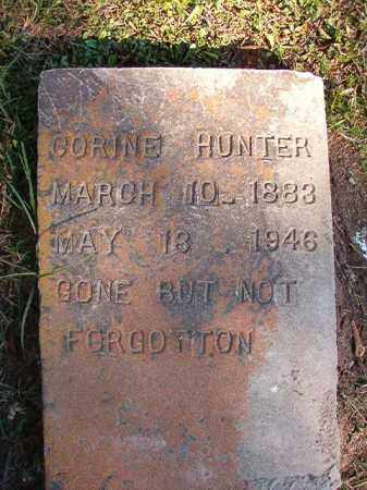 HUNTER, CORINE - Dallas County, Arkansas | CORINE HUNTER - Arkansas Gravestone Photos