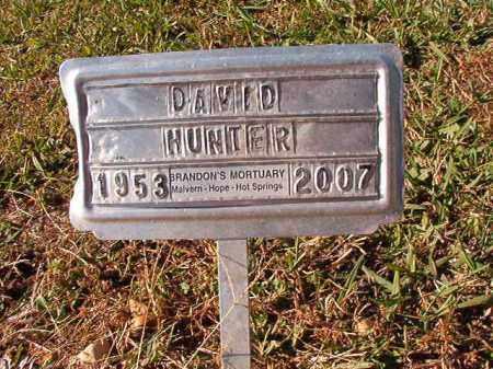 HUNTER, DAVID - Dallas County, Arkansas | DAVID HUNTER - Arkansas Gravestone Photos