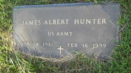 HUNTER (VETERAN), JAMES ALBERT - Dallas County, Arkansas | JAMES ALBERT HUNTER (VETERAN) - Arkansas Gravestone Photos