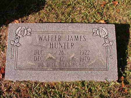 HUNTER, WAFFER JAMES - Dallas County, Arkansas | WAFFER JAMES HUNTER - Arkansas Gravestone Photos