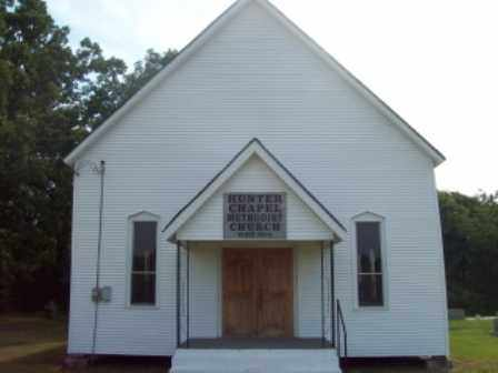 *HUNTERS CHAPEL CHURCH,  - Dallas County, Arkansas |  *HUNTERS CHAPEL CHURCH - Arkansas Gravestone Photos