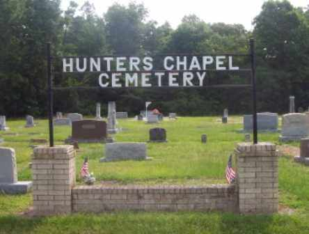 *HUNTERS CHAPEL SIGN,  - Dallas County, Arkansas |  *HUNTERS CHAPEL SIGN - Arkansas Gravestone Photos