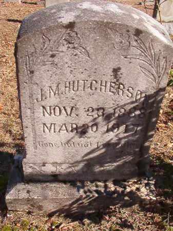 HUTCHERSON, J M - Dallas County, Arkansas | J M HUTCHERSON - Arkansas Gravestone Photos