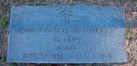 HUTCHERSON (VETERAN KOR), JOHN THOMAS - Dallas County, Arkansas | JOHN THOMAS HUTCHERSON (VETERAN KOR) - Arkansas Gravestone Photos