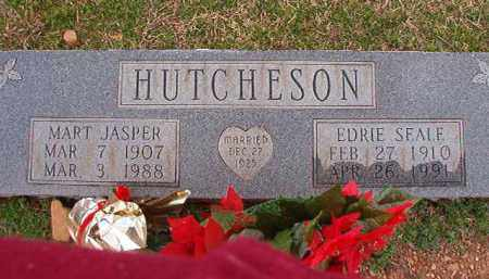 HUTCHESON, MART JASPER - Dallas County, Arkansas | MART JASPER HUTCHESON - Arkansas Gravestone Photos