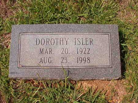 ISLER, DOROTHY - Dallas County, Arkansas | DOROTHY ISLER - Arkansas Gravestone Photos