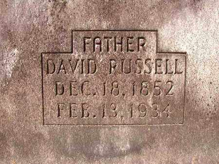 JACKSON, DAVID RUSSELL - Dallas County, Arkansas | DAVID RUSSELL JACKSON - Arkansas Gravestone Photos