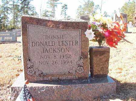 JACKSON, DONALD LESTER - Dallas County, Arkansas | DONALD LESTER JACKSON - Arkansas Gravestone Photos