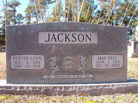 JACKSON, PORTER LEON - Dallas County, Arkansas | PORTER LEON JACKSON - Arkansas Gravestone Photos