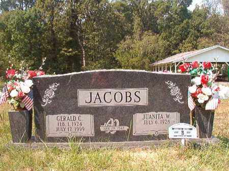 JACOBS, JUANITA W - Dallas County, Arkansas | JUANITA W JACOBS - Arkansas Gravestone Photos