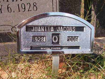 JACOBS, JUANITA - Dallas County, Arkansas | JUANITA JACOBS - Arkansas Gravestone Photos