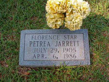 PATREA JARRETT, FLORENCE STAR - Dallas County, Arkansas | FLORENCE STAR PATREA JARRETT - Arkansas Gravestone Photos