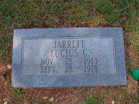 JARRETT, LUCIUS C - Dallas County, Arkansas | LUCIUS C JARRETT - Arkansas Gravestone Photos