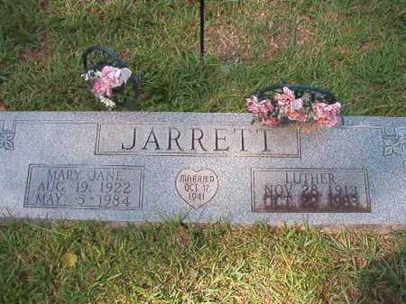 JARRETT, LUTHER - Dallas County, Arkansas | LUTHER JARRETT - Arkansas Gravestone Photos
