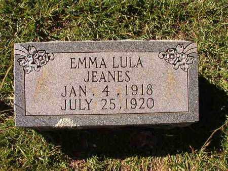 JEANES, EMMA LULA - Dallas County, Arkansas | EMMA LULA JEANES - Arkansas Gravestone Photos