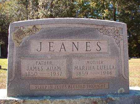 JEANES, JAMES ADAM - Dallas County, Arkansas | JAMES ADAM JEANES - Arkansas Gravestone Photos