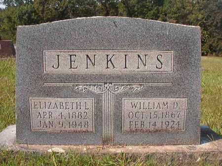 JENKINS, ELIZABETH L - Dallas County, Arkansas | ELIZABETH L JENKINS - Arkansas Gravestone Photos