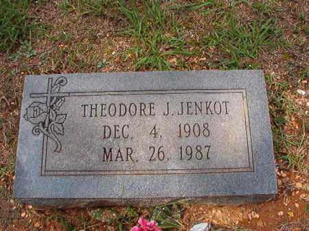 JENKOT, THEODORE J - Dallas County, Arkansas | THEODORE J JENKOT - Arkansas Gravestone Photos