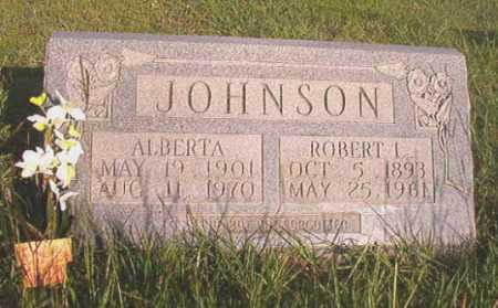 JOHNSON, ROBERT L - Dallas County, Arkansas | ROBERT L JOHNSON - Arkansas Gravestone Photos