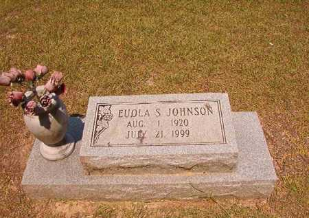 JOHNSON, EUOLA S - Dallas County, Arkansas | EUOLA S JOHNSON - Arkansas Gravestone Photos