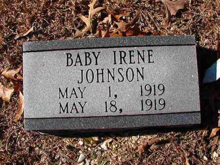 JOHNSON, IRENE - Dallas County, Arkansas | IRENE JOHNSON - Arkansas Gravestone Photos