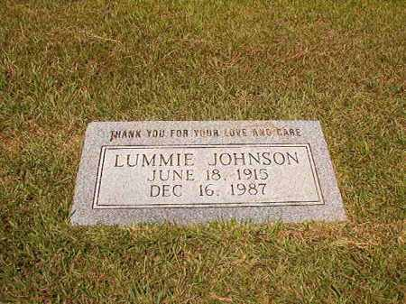 JOHNSON, LUMMIE - Dallas County, Arkansas | LUMMIE JOHNSON - Arkansas Gravestone Photos