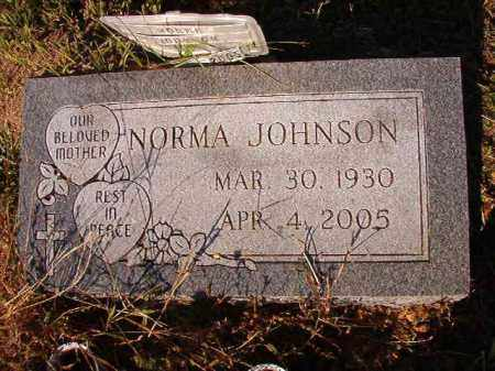 JOHNSON, NORMA - Dallas County, Arkansas | NORMA JOHNSON - Arkansas Gravestone Photos