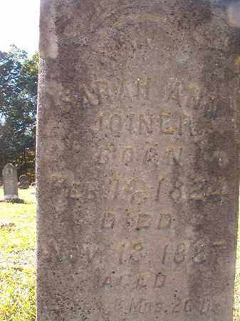 JOINER, SARAH ANN - Dallas County, Arkansas | SARAH ANN JOINER - Arkansas Gravestone Photos