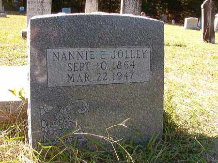 JOLLEY, NANNIE E - Dallas County, Arkansas | NANNIE E JOLLEY - Arkansas Gravestone Photos