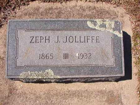 JOLLIFFE, ZEPH J - Dallas County, Arkansas | ZEPH J JOLLIFFE - Arkansas Gravestone Photos