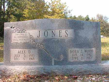 JONES, NORA J - Dallas County, Arkansas | NORA J JONES - Arkansas Gravestone Photos