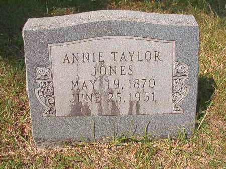 TAYLOR JONES, ANNIE - Dallas County, Arkansas | ANNIE TAYLOR JONES - Arkansas Gravestone Photos