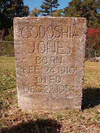 JONES, CODISHIA - Dallas County, Arkansas | CODISHIA JONES - Arkansas Gravestone Photos