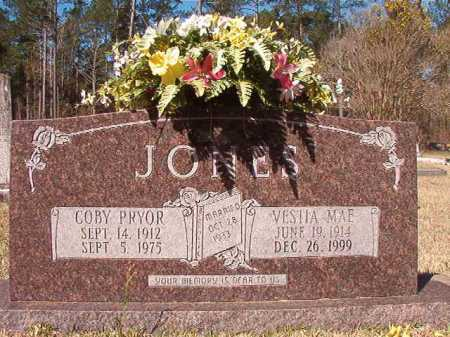 JONES, COBY PRYOR - Dallas County, Arkansas | COBY PRYOR JONES - Arkansas Gravestone Photos